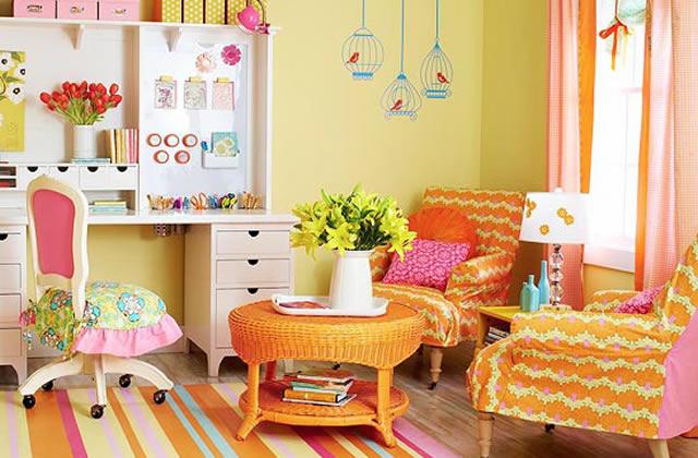 tendance d co 2013 les couleurs vitamin es. Black Bedroom Furniture Sets. Home Design Ideas