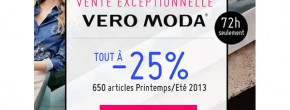 Tout Vero Moda à – 25% chez Monshowroom !
