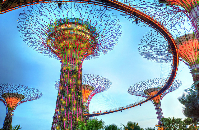Carte postale de Singapour