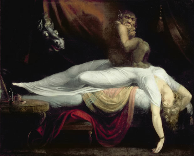 paralysie du sommeil le cauchemar