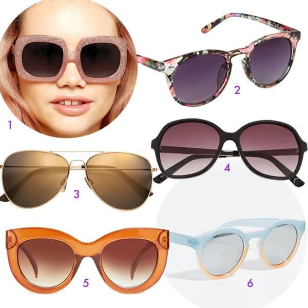 choisir lunettes de soleil selon sa forme de visage pour l. Black Bedroom Furniture Sets. Home Design Ideas