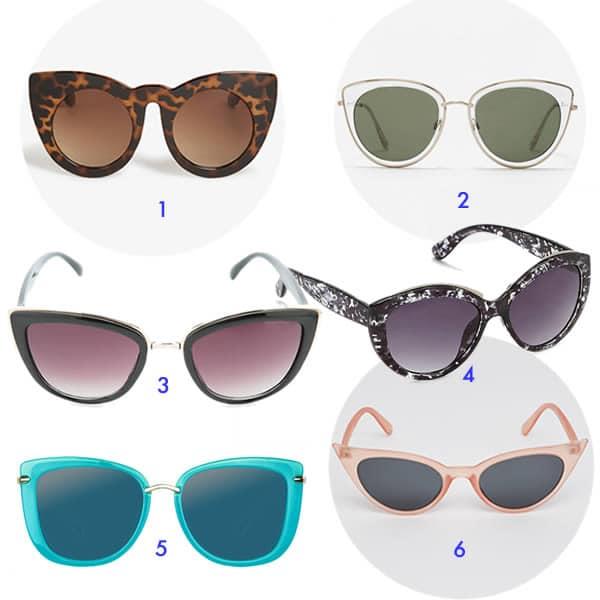 lunettes de soleil pour visage anguleux