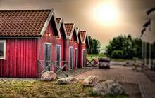 Mentalité suédoise et effets secondaires – Carte postale de Suède