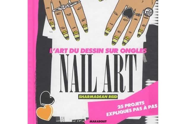 «L'art du dessin sur les ongles – Nail-Art », de Sharmadean Reid