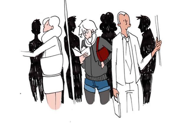 Pelotage urbain : la parade infaillible – Le Dessin de Cy.