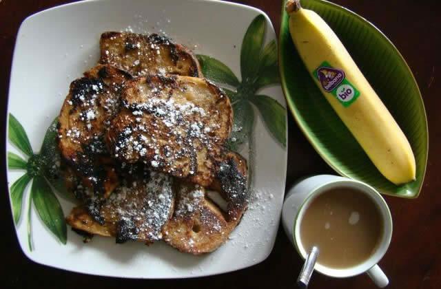Pain perdu à la banane – la recette de Vegan Valkyrie