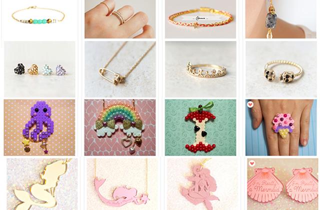 Sélection de boutiques Etsy : de jolis bijoux à prix tout doux