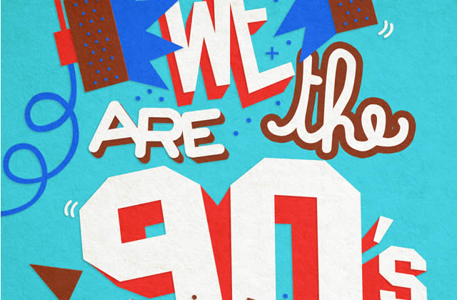 5×2 places à gagner pour la We Are The 90′s du 12 avril 2013