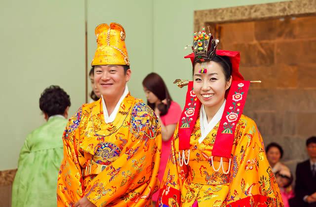 «I Do ! » : zoom sur le mariage – Carte postale de Corée du Sud