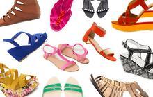 Les tendances chaussures printemps-été 2013