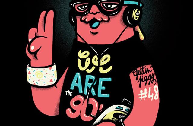 5×2 places à gagner pour la We Are The 90's du Samedi 25 mai 2013
