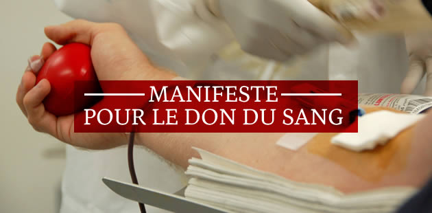 Donnez votre sang, l'EFS a besoin de vous!