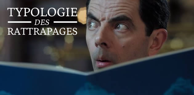 Typologie des rattrapages