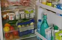 Dans le frigo… d'Audrey !