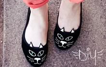 DIY : des ballerines chatons façon Charlotte Olympia