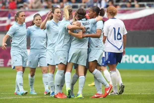 Rencontre avec l'équipe de France Féminine de Football