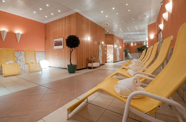 piscine transats sauna