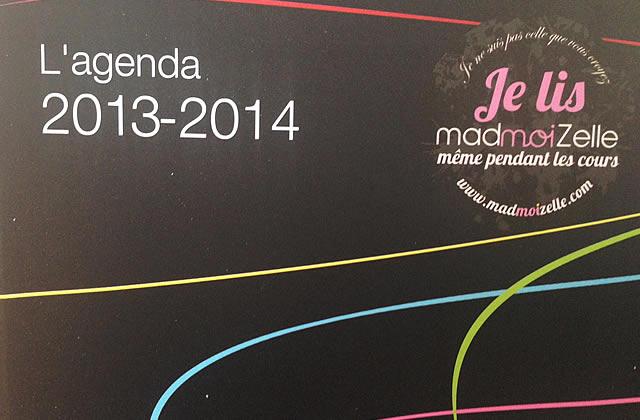 Les agendas 2013-2014 madmoiZelle sont là !
