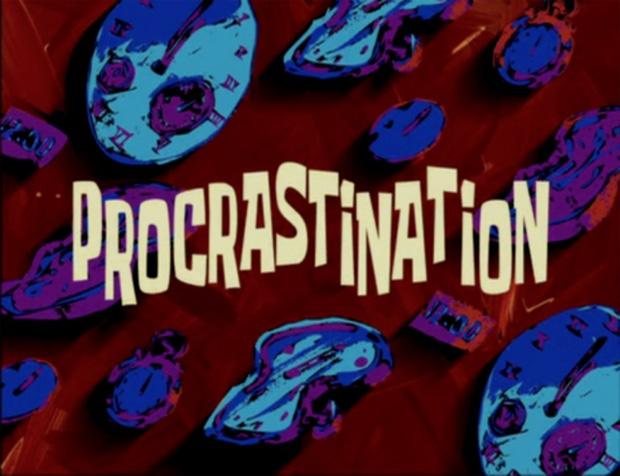 sponge-bob-procrastination