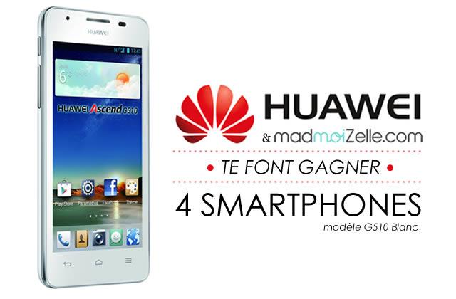 Concours : Huawei t'offre ton nouveau smartphone !