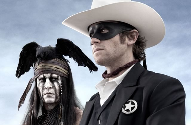 Lone Ranger : critique et interview d'Armie Hammer