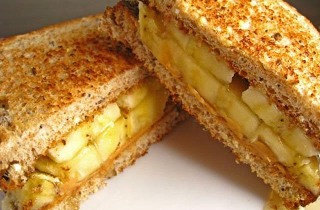 Le sandwich «Elvis » banane-beurre de cacahuète : la recette