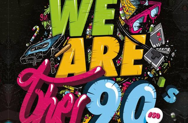 5×2 places à gagner pour la We Are The 90's du vendredi 13 septembre 2013 !