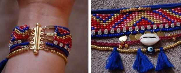 bracelet manchette hipanema diy