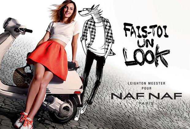Naf Naf : Leighton Meester nous fait découvrir la nouvelle