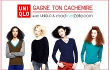 Un pull en cachemire Uniqlo ! —Concours