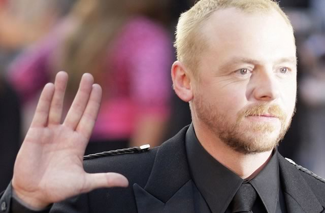 Simon Pegg — Le top 3