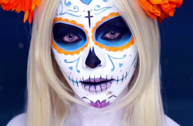 Tutos pour maquillage d 39 halloween notre best of - Maquillage mexicain facile ...