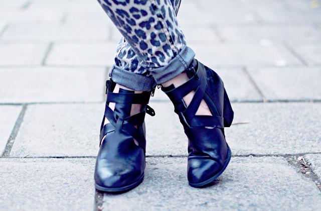 DIY — Des bottines ajourées