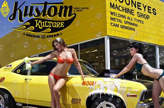 Kustom Kulture, un superbe artbook qui sent bon les 50's