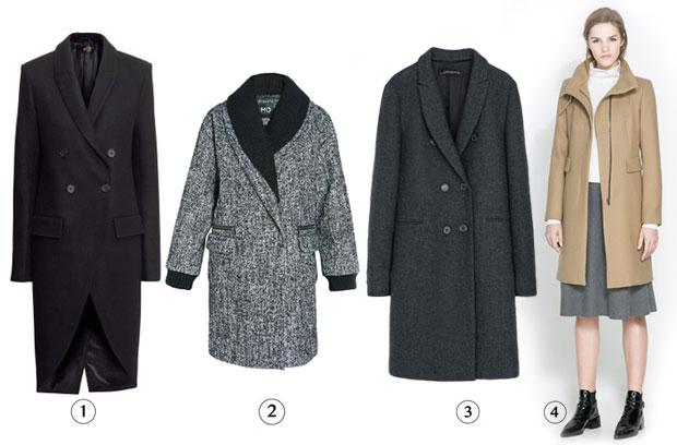 Manteau extra long laine femme