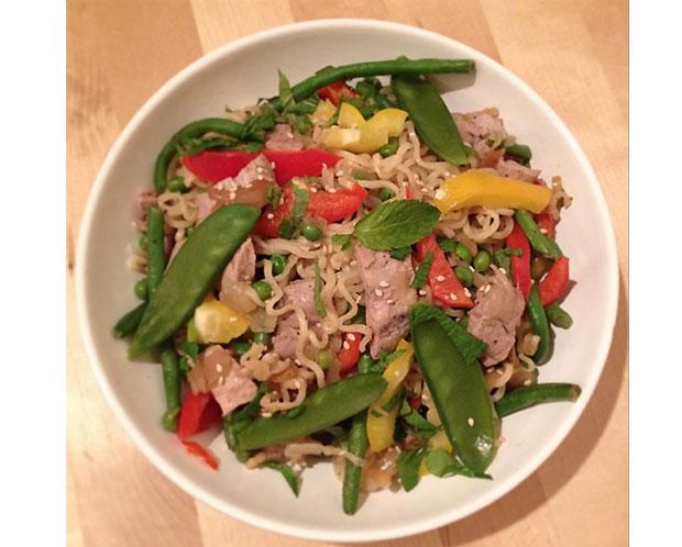 nouilles thaï recettes