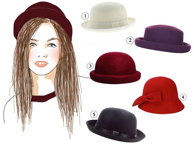 magasins populaires élégant et gracieux beauté Conseils morpho — Quel chapeau pour votre tête ?