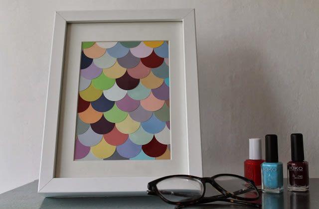 DIY — Un cadre coloré pour contrer la grisaille