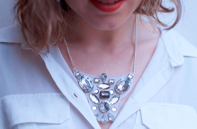 DIY — Un collier-plastron pour les fêtes
