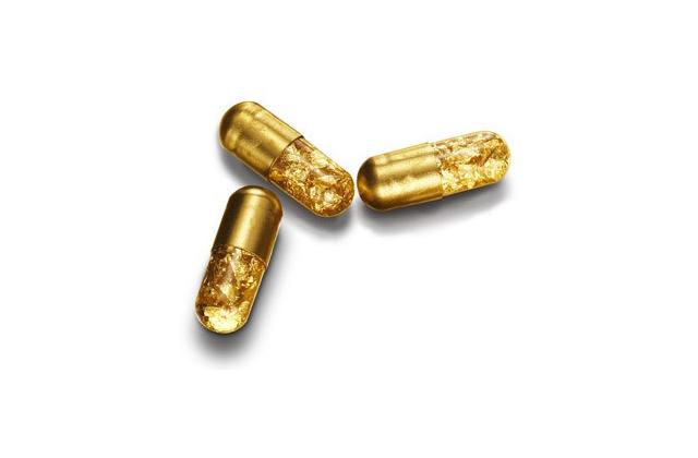 Avec les Gold Pills, coule un bronze plaqué or !