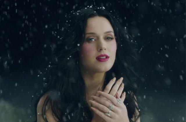 Unconditionally, le clip hivernal de Katy Perry