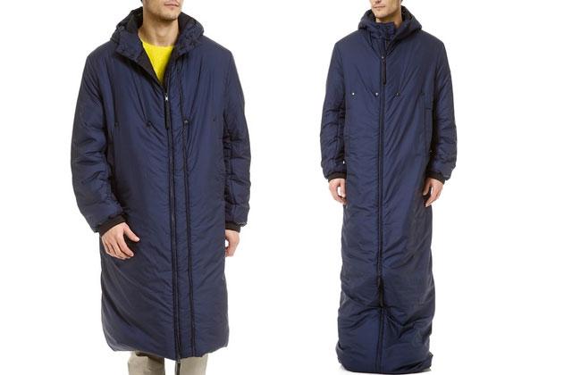 Le manteau-sac de couchage d'Adidas — WTF mode