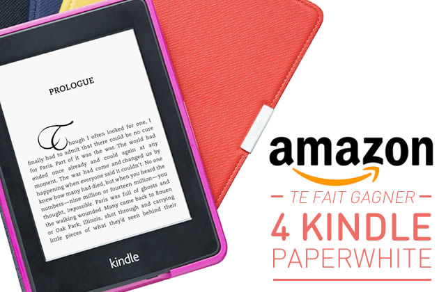 4 Kindle Paperwhite à gagner !