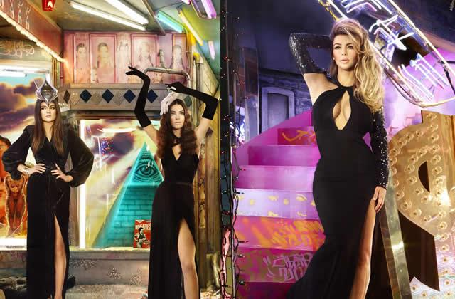 Les Kardashian et leur carte de voeux 2013