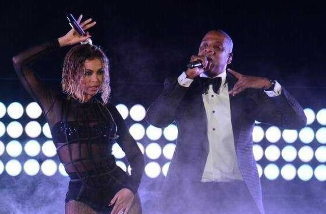 Beyoncé et Jay-Z, chauds du slip aux Grammy Awards 2014