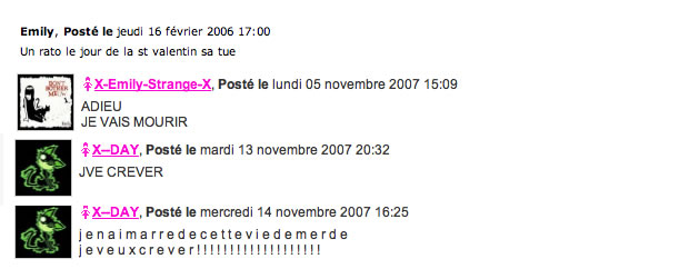 commentaire skyblog