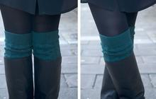 DIY — De vraies chaussettes hautes en laine
