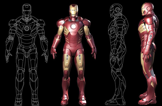 «Iron Man »… en vrai ?