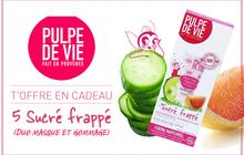 Concours beauté — 5 Sucré frappé Pulpe de Vie à gagner !