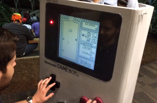 Un cosplay GameBoy… qui fonctionne !